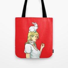 Fragile Girl Tote Bag