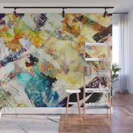 Painterly Wall Mural