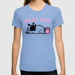 Rest Day Frenchie T-shirt