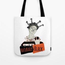 Naturally Black Tote Bag