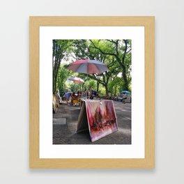 New York Days Framed Art Print