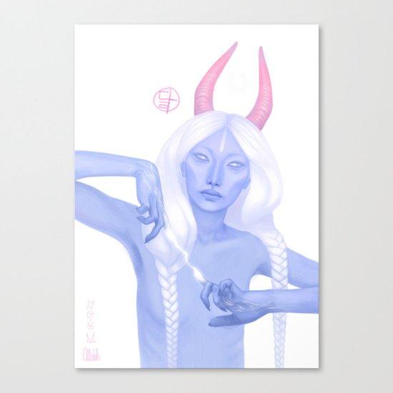 달・Moon Canvas Print