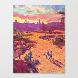Valley of Trials Canvas Print