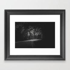 Darkness Ends Framed Art Print