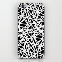 Ab Upside down Black iPhone & iPod Skin