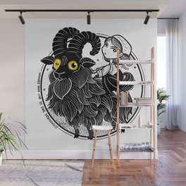 Black Phillip Wall Mural