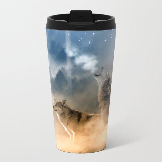 Moonrise Howl Metal Travel Mug