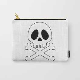 Galactic Pirate Crossbones skull Carry-All Pouch