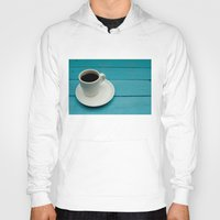 coffe Hoodies featuring Coffe by Camaracraft