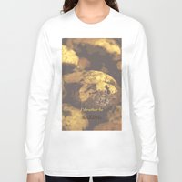 baking Long Sleeve T-shirts featuring I'd rather be baking by inesmarinho