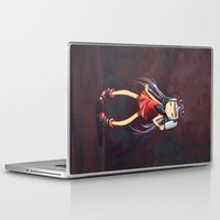popsicle Laptop & iPad Skins featuring Popsicle by Freeminds