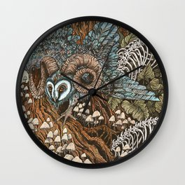 Bone Picker Wall Clock