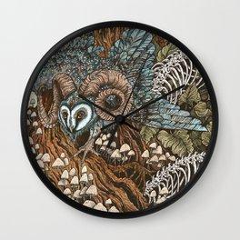 Bone Picker Wall Clock