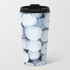 Golf Lovers... practice makes perfect Metal Travel Mug