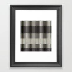 Piano Man   Abstract Pattern Framed Art Print