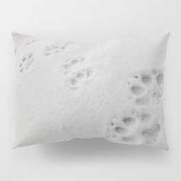Yellow Stone - Wolf Tracks Pillow Sham