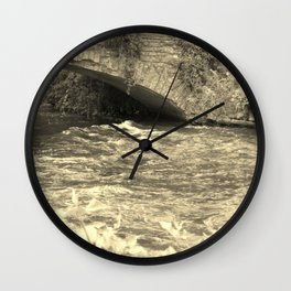 Antique Bridge Wall Clock