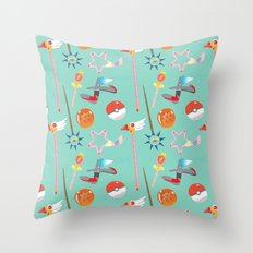 Weapons Throw Pillow