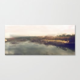 Lock & Dam No. 1 Panoramic Canvas Print