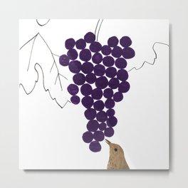 How to make wine, calendar 2013 Metal Print