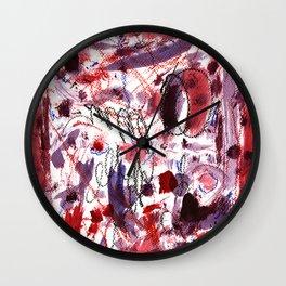 Red Birds Wall Clock