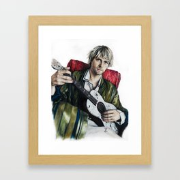 Portrait of Kurt Framed Art Print