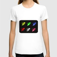 insects T-shirts featuring Neon insects by LoRo  Art & Pictures