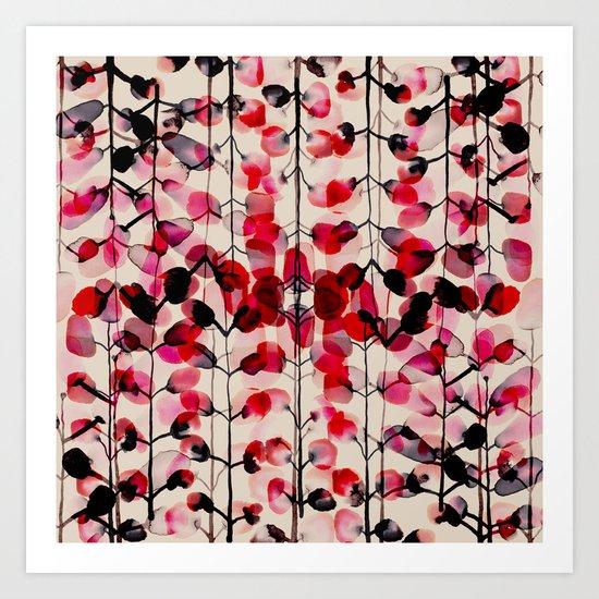 flower pattern 03 Art Print