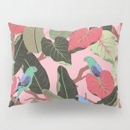 Sunny Hawaii Tropical Exotic Birds of Paradise Pillow Sham