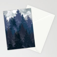 Winter i will never forget you Stationery Cards