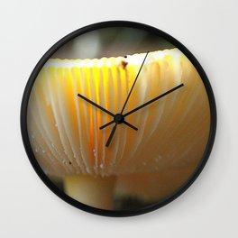 Mushroom L Wall Clock