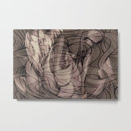 Epona -Celtic Metal Print