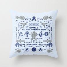 Star Trek Pillow Throw Pillow