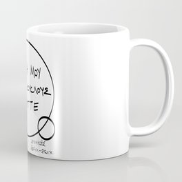 Do not mess with my circles (μη μου τους κύκλους τάραττε) Coffee Mug
