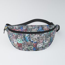 Gemstone Cats RGB Fanny Pack