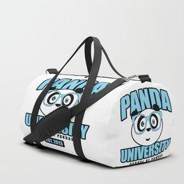 Panda University - Blue Duffle Bag