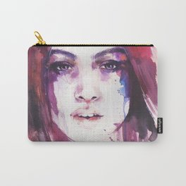 A girl from the other side of the street Carry-All Pouch