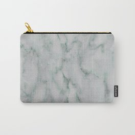 Ariana verde - smoky teal marble Carry-All Pouch