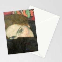 Gustav Klimt – Dame mit Muff Stationery Cards