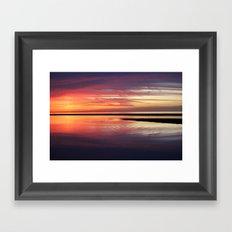 SEA ZEN Framed Art Print