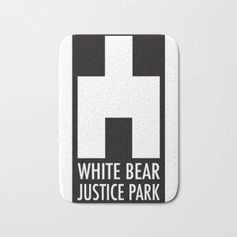 White Bear Justice Park Bath Mat