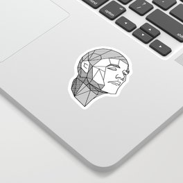 Tetra Face Sticker