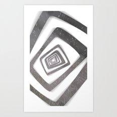 Into the TV (Persona 4) Art Print