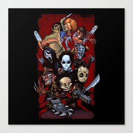 Horror Guice Canvas Print