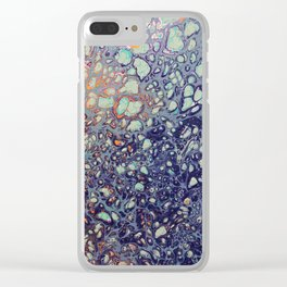 Bubbling Over Clear iPhone Case