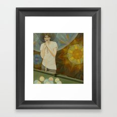 The Next Move Framed Art Print