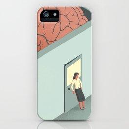 Brain Room iPhone Case