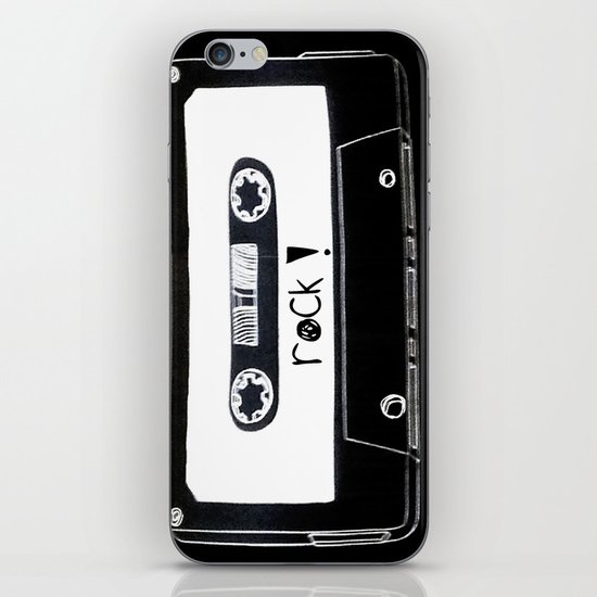 Rock your world! iPhone & iPod Skin