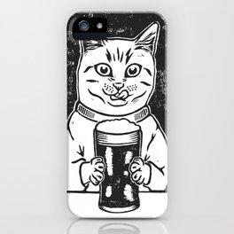 Thirsty Cat iPhone Case