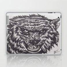 Angry wolf Laptop & iPad Skin